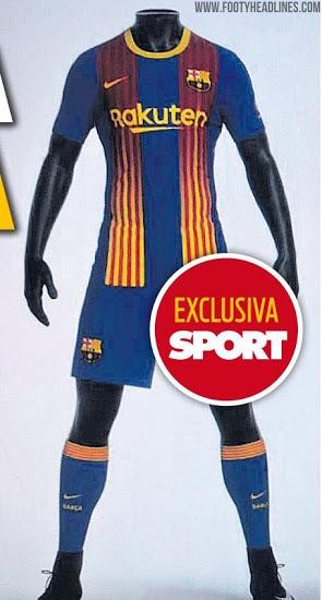 Cuarta Camiseta del FC Barcelona 2020-2021 Blaugrana + Senyera Rayas