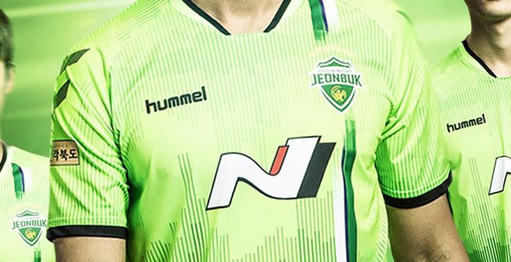 Camiseta de local y visitante del Jeonbuk Hyundai Motors FC 2020