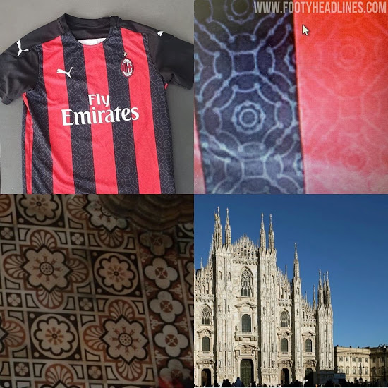 Camiseta de local del AC Milan 20-21