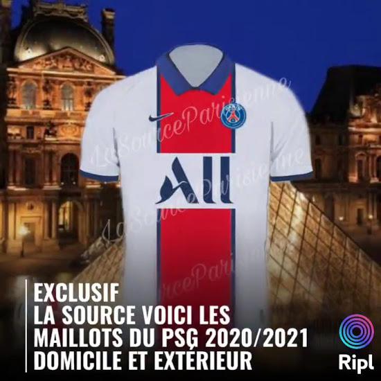 Camiseta de visitante del PSG 2020-2021