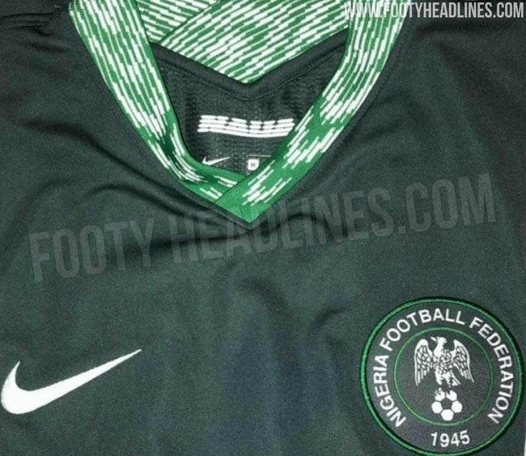 Camiseta de local, visitante y de portero de Nigeria 2020-2021