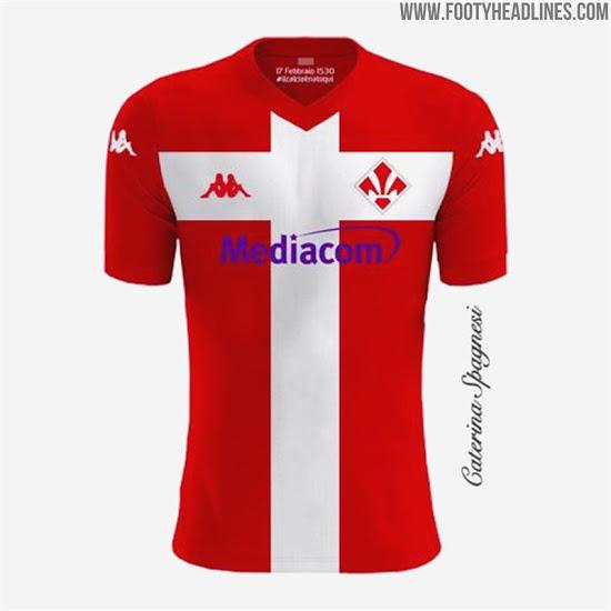 Tercera camiseta de la Fiorentina 2020-2021