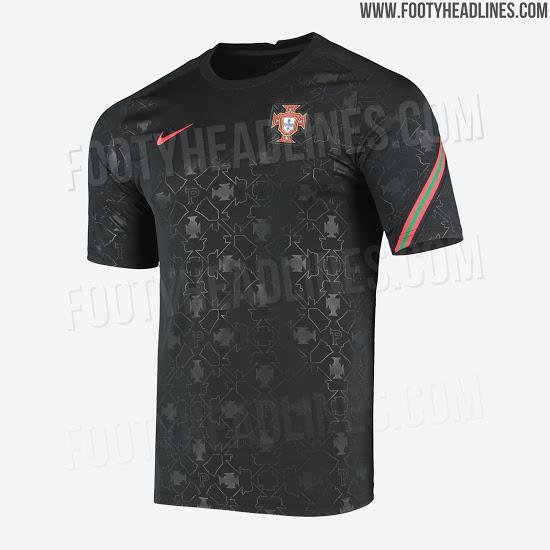 Camiseta Pre-Partido de Portugal 2020-2021
