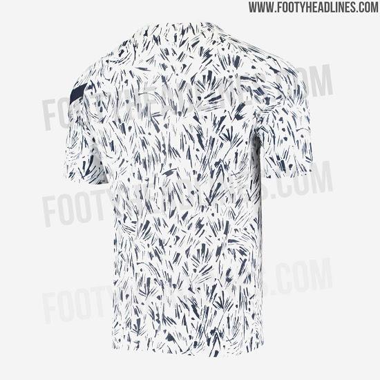 Espectacular camiseta Pre-Partido de Francia para la Euro 2020
