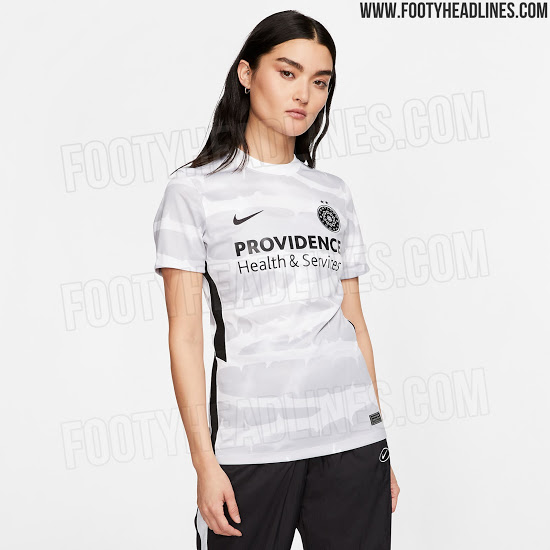 Camiseta de local y de visitante de Portland Thorns 2020