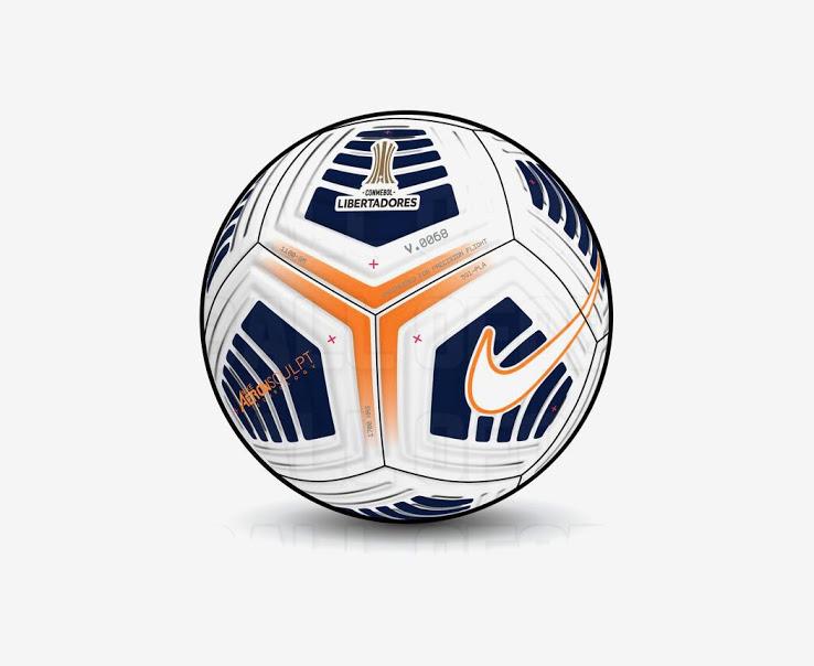 Balón de Nike para la Copa Libertadores 2021 Basado En Aerowsculpt