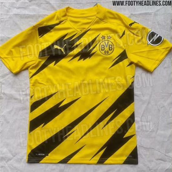 Camiseta de Local del Borussia Dortmund 2020-2021