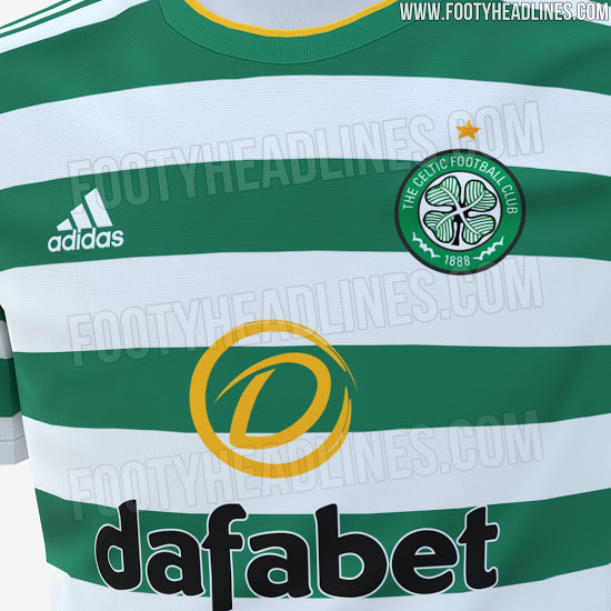 Camiseta de Local del Celtic de Glasgow 2020-2021