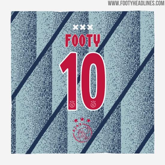 Camiseta de visitante del Ajax 2020-2021