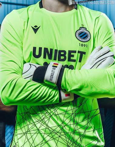 Camiseta de Local, Visitante y Portero del Club Brugge 2020-2021
