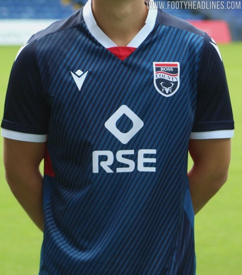 Camiseta de Local y Visitante del Ross County 2020-2021