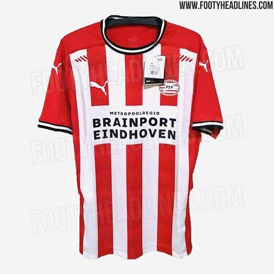 Camiseta de Local del PSV 2020-2021 - Fotos Oficiales