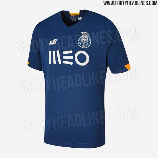 Camiseta de Visitante y Alternativa del Porto 2020-2021