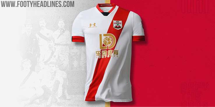 Camiseta de Local, Alternativa y de Portero del Southampton 2020-2021