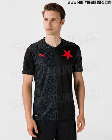 Camiseta de Local y Visitante del Slavia Praha 2020-2021