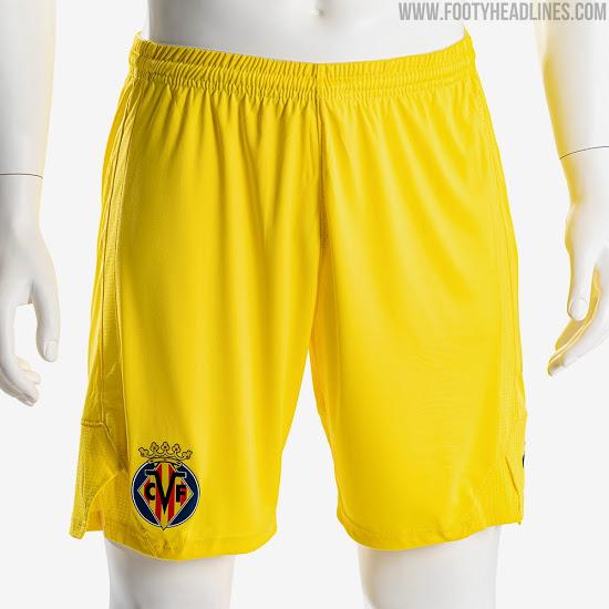 Camisetas de Local, Visitante y Alternativa del Villarreal FC 2020-2021