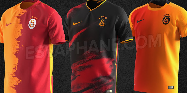 Camiseta de Local y Visitante del Galatasaray 2020-2021