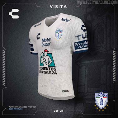 Camisetas de Local y Visitante del Pachuca FC 2020-2021