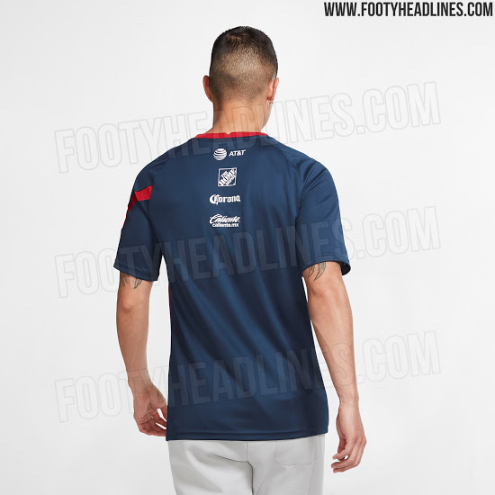 Camisetas de Local y Pre-Partido del Club América 2020-2021