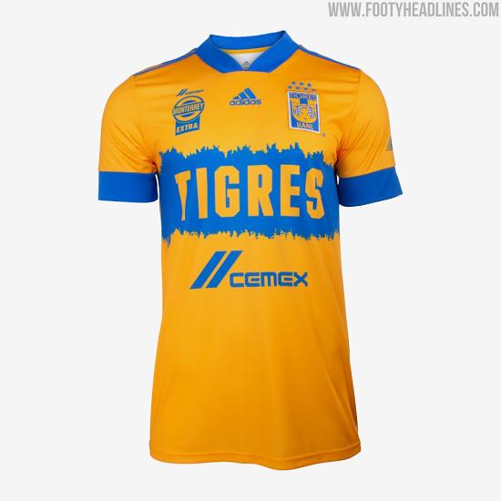 Camiseta de Local y Visitante de Tigres 2020-2021