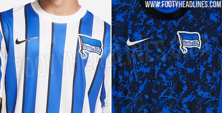 Camiseta de Local y Visitante del Hertha De Berlín 2020-2021