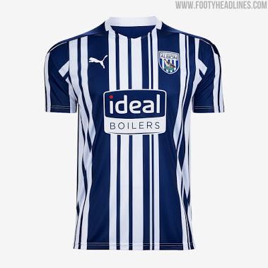 Camiseta de Local del West Bromwich Albion 2020-2021