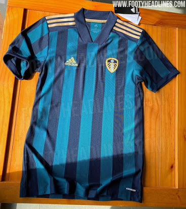 Camiseta de Local y Visitante del Leeds United 2020-2021