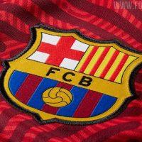 Camiseta de Visitante de Portero del Barcelona 2020-2021