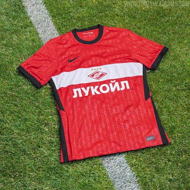 Camiseta de Local y Visitante del Spartak De Moscú 2020-2021