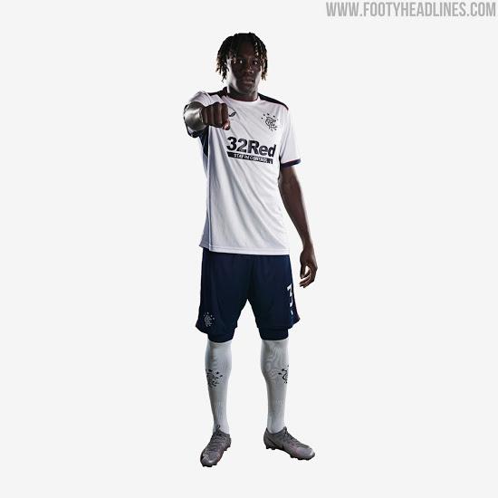 Camiseta de Visitante del Rangers 2020-2021
