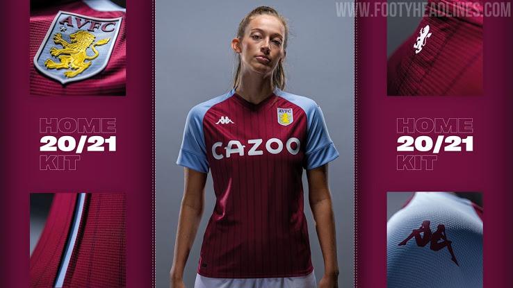 Camiseta de Loacal del Aston Villa 2020-2021