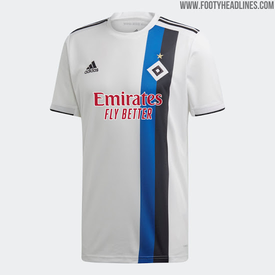 Camiseta de Local y Visitante del Hamburgo 2020-2021