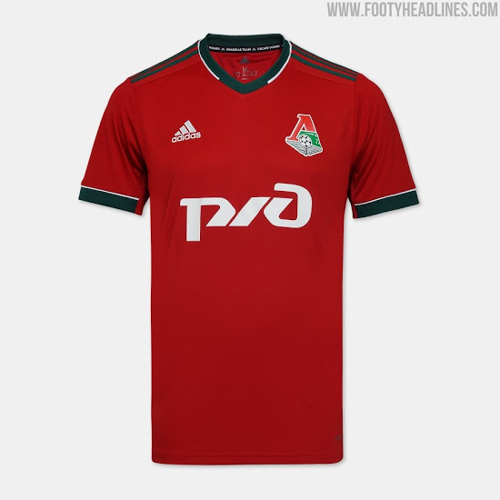 Camiseta de Local, Visitante y Alternativa del Lokomotiv De Moscú 2020-2021