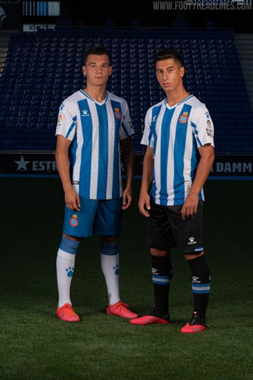 Camisetas de Local, Visitante y Alternativa del Espanyol 2020-2021