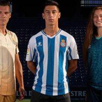 Camisetas de Local, Visitante y Alternativa del Espanyol 2020-2021