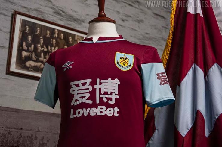 Camiseta de Local del Burnley FC 2020-2021
