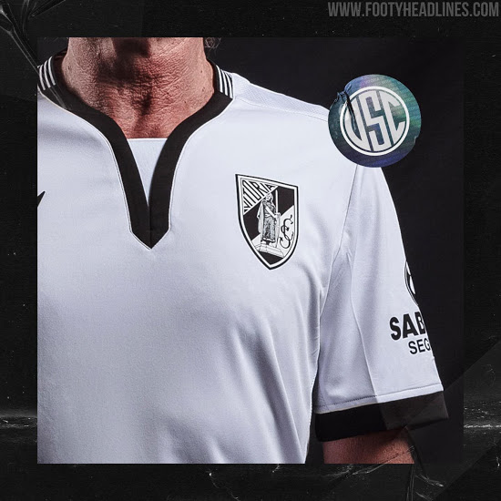 Camiseta de Local y Visitante del Vitória SC 2020-2021