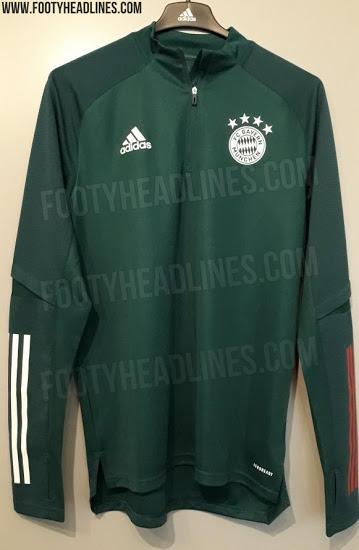 Camiseta de Entrenamiento del Bayern München FC 2020-2021