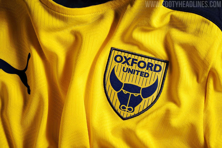 Camiseta de Local del Oxford United 2020-2021