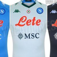 Camiseta de Local, Visitante y Alternativa del Napoli 2020-2021