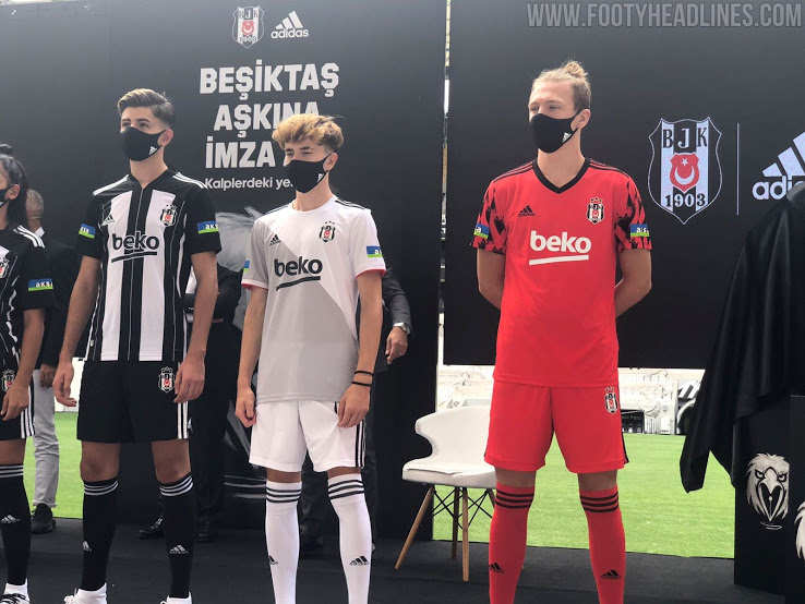 Camiseta de Local, Visitante y Alternativa del Besiktas 2020-2021