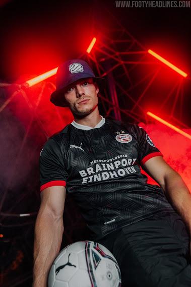 Camiseta Alternativa del PSV 2020-2021