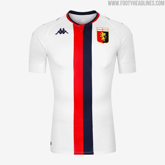 Camiseta de Visitante del Genoa 2020-2021