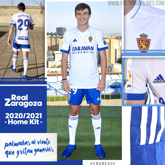 Camiseta de Local del Real Zaragoza 2020-2021