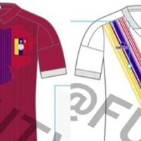 Propuesta de las Camisetas de Local y Visitante de Venezuela 2020-2021 Hecha por Romain Soisrts