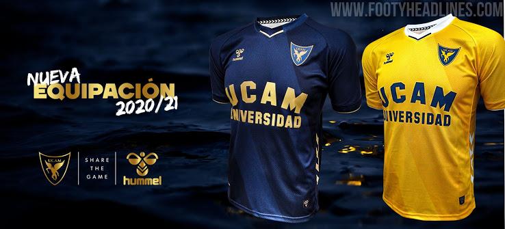 Camiseta de Local y Visitante del Murcia 2020-2021