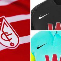 Camisetas de Local, Visitante y Alternativa del Granada FC 2020-2021