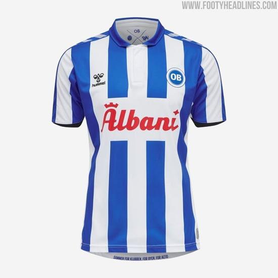 Camiseta de Local del Odense 2020-2021