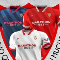 Camisetas de Local, Visitante y Alternativa del Sevilla FC 2020-2021