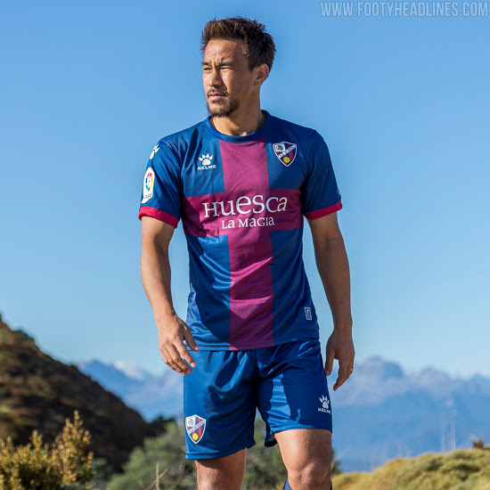 Camisetas de Local, Visitante y Alternativa del Huesca 2020-2021